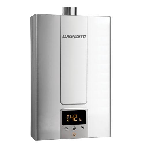 Aquecedor de Água a Gás Lorenzetti LZ 2000DE-I GN 20 Litros Bivolt