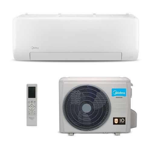 Ar-Condicionado Split HW Inverter Midea All Easy 12.000 BTUs Quente/Frio 220V