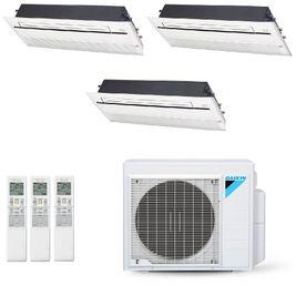 Ar-Condicionado Multi Split Inverter Daikin 28.000 BTUs (2x Evap Cassete 1 Via 12.000 + 2x Evap Cassete 1 Via 18.000) Quente/Frio 220V
