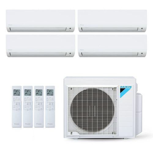 Ar-Condicionado Multi Split Inverter Daikin 28.000 BTUs (3x Evap HW 9.000 + 1x Evap HW 18.000) Quente/Frio 220V