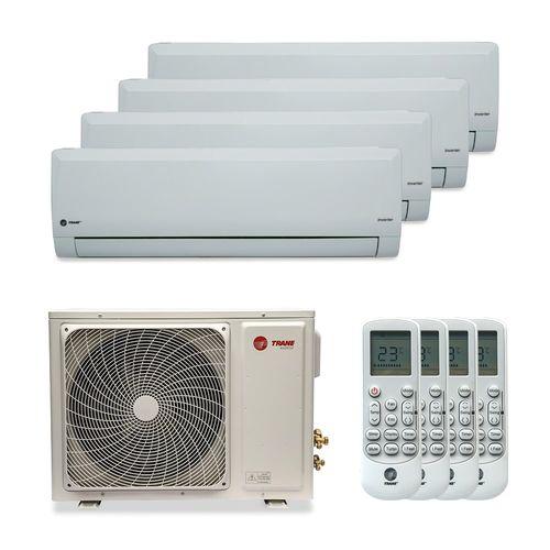 Ar-Condicionado Multi Split Inverter Trane 35.000 BTUs (3x Evap HW 12.000 + 1x Evap HW 18.000) Quente/Frio 220V