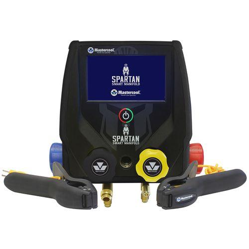 Manifold Digital Mastercool Spartan 4 Vias 99943-BT-2