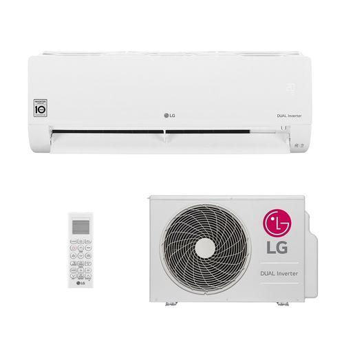 Ar-Condicionado Split HW Inverter LG Dual Voice 18.000 BTUs Quente/Frio 220V