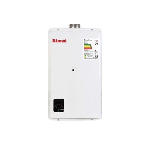 Aquecedor de Água a Gás Rinnai E33 GN 32,5 Litros Bivolt