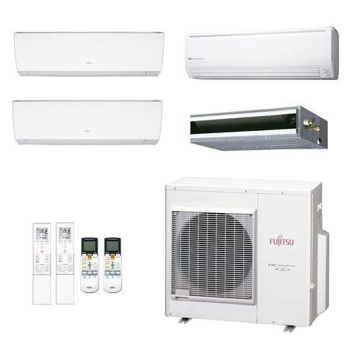 Ar-Condicionado-Multi-Split-Inverter-Fujitsu-Conjunto