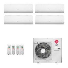Ar Condicionado Multi Split Inverter LG 30.000 BTUs (2x Evap HW 9.000 + 1x Evap HW 12.000 + 1x Evap HW 18.000) Quente/Frio 220V