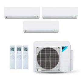 Ar-Condicionado Multi Split Inverter Dakin 18.000 BTUs (2x Evap HW 9.000 + 1x Evap HW 12.000) Quente/Frio 220V