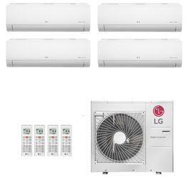 Ar-Condicionado Multi Split Inverter LG 36.000 BTUs (2x Evap HW 9.000 + 1x Evap HW 12.000 + 1x Evap HW 18.000) Quente/Frio 220V