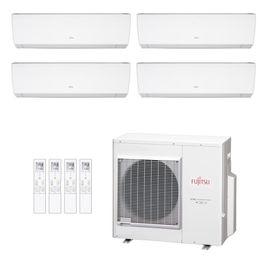 Ar-Condicionado Multi Split Inverter Fujitsu 35.000 BTUs (2x Evap HW 9.000 + 1x Evap HW 12.000 + 1x Evap HW 18.000) Quente/Frio 220V