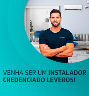 Venha ser um instalador credenciado Leveros!